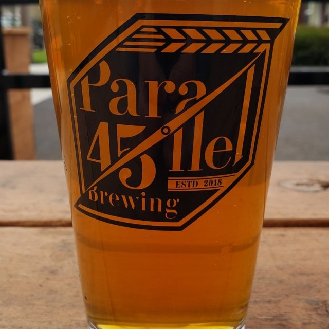 Parallel 45 Brewing glass of beer