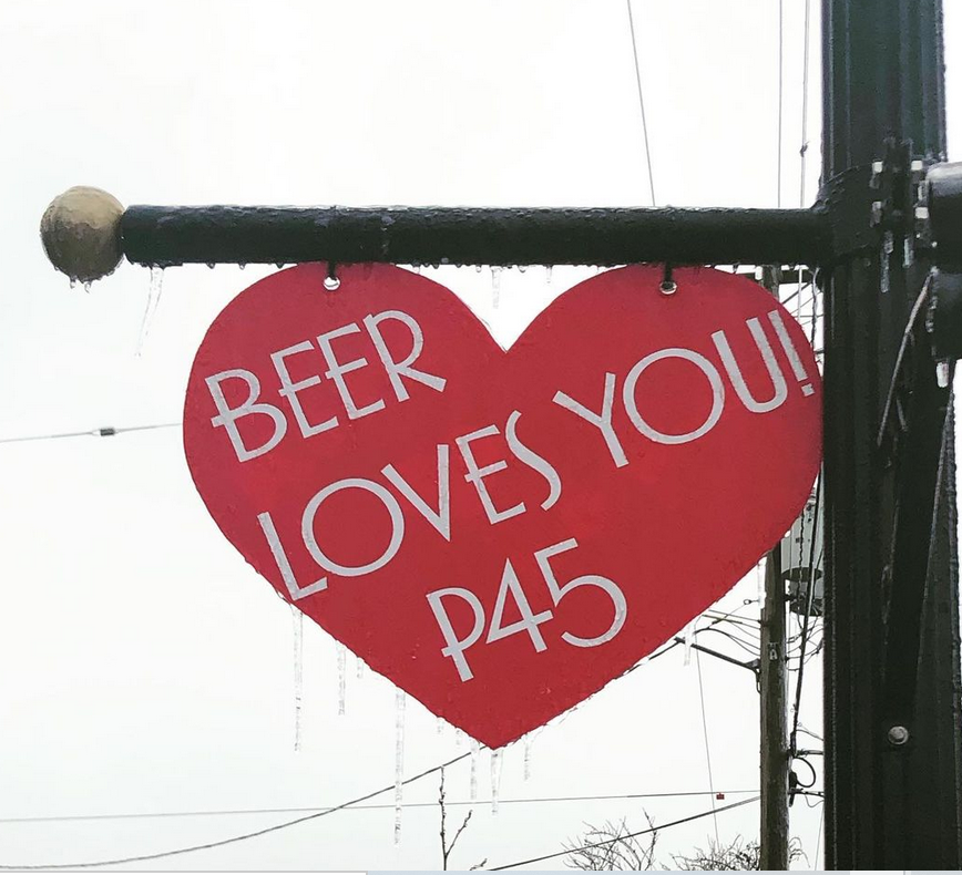 Parallel 45 Brewing Walk of Hearts