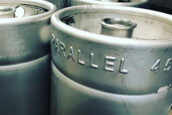 Parallel 45 Brewing Kegs