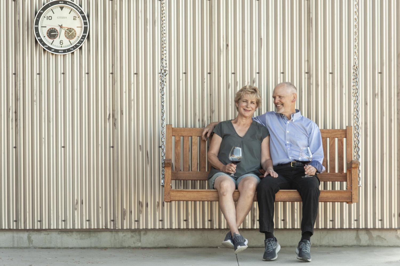 Karen with husband and co-founder, Joe Allan
