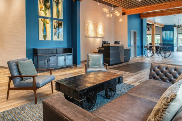 Independence Hotel Inviting Lobby