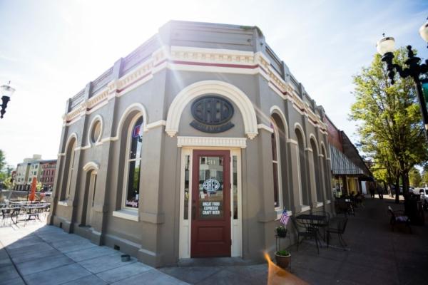 A historic building converted into a pub