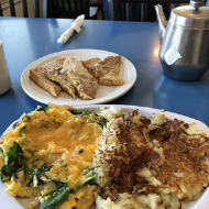 Starduster Cafe veggie scramble