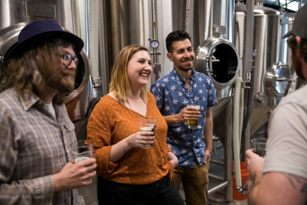 Image shows Brewing Tours available at Parallel 45 in Independence, Oregon