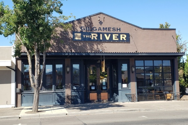 The storefront view of Gilgamesh The RIver